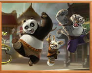 Sort my tiles Kung Fu Panda j�t�k