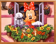 Sort my tiles Minnie and chipmunks j�t�k