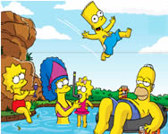Sort my tiles the Simpsons online j�t�k