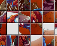 Spiderman with heroes kirak�s j�t�kok
