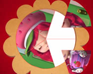 Strawberry Shortcake Round Puzzle kirak�s j�t�kok